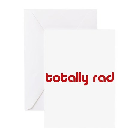 Red Totally Rad Greeting Cards (Pk of 20)