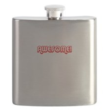 Awesome Red Middle Flask
