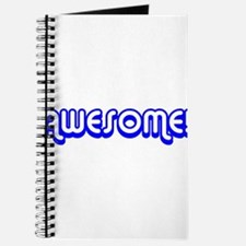 Blue Awesome Middle Journal