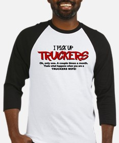 I Pick Up Truckers Baseball Jersey