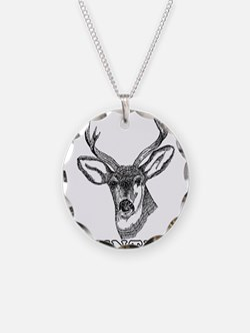 Deer Hunter Hunting Necklace