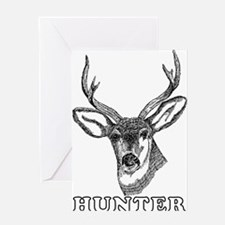 Deer Hunter Hunting Greeting Card