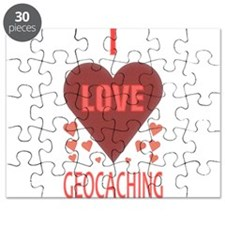 I LOVE GEOCACHING Puzzle