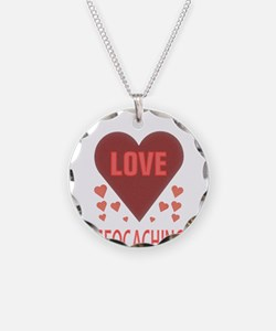 I LOVE GEOCACHING Necklace