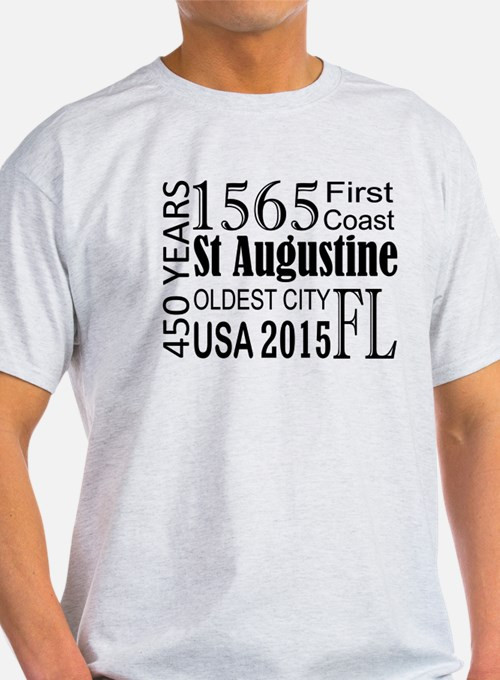 St Augustine 450 years T-Shirt