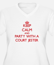 Keep Calm and Party With a Court Jester Plus Size