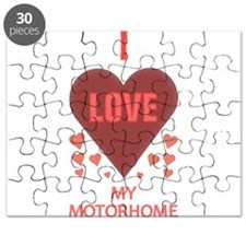 I LOVE MY MOTORHOME Puzzle