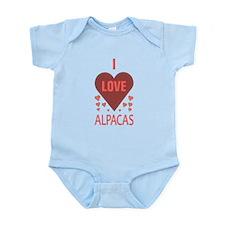 I LOVE ALPACAS Infant Bodysuit