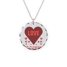 i love to shimmy Necklace