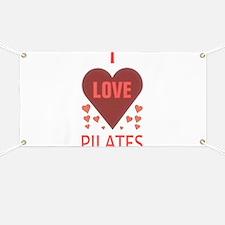 I LOVE PILATES Banner
