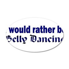 I Love Belly Dancing Wall Decal