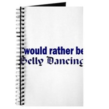 I Love Belly Dancing Journal