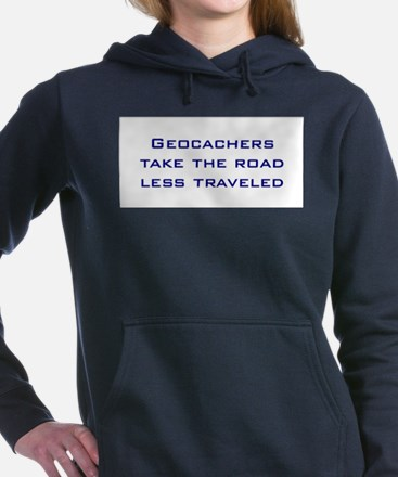Geocachers take the road less traveled Hooded Swea