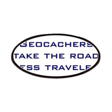 Geocachers take the road less traveled Patches