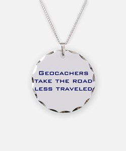 Geocachers take the road less traveled Necklace