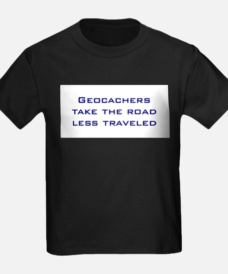 Geocachers take the road less traveled T