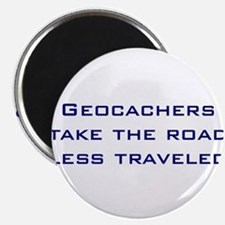 "Geocachers take the road less traveled 2.25"" Magne"