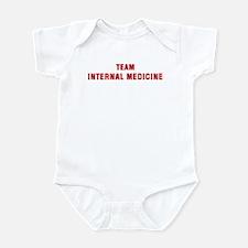 Team INTERNAL MEDICINE Infant Bodysuit