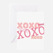 XOXO Hugs and Kisses Greeting Card