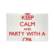 Keep Calm and Party With a Cpa Magnets