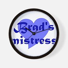 Brads Mistress Wall Clock