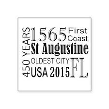 St Augustine 450 Years Sticker