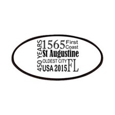 St Augustine 450 Years Patches