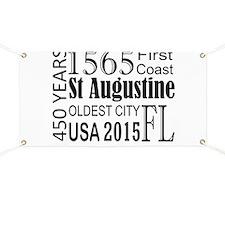 St Augustine 450 years Banner