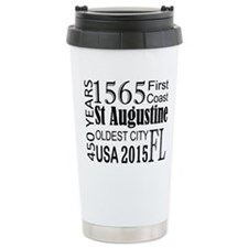 St Augustine 450 years Travel Mug