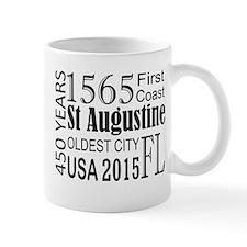 St Augustine 450 years Mugs