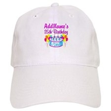 FABULOUS 25TH Baseball Cap
