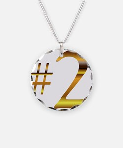 Number 2 Necklace