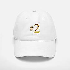 Number 2 Baseball Baseball Cap