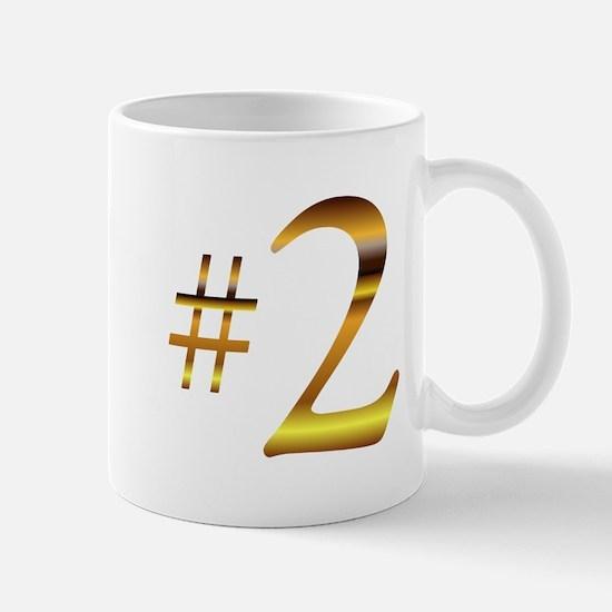 Number 2 Mug