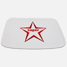 Super Star Red Chrome Bathmat