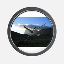 Guadalupe Mountain New Mexico Wall Clock