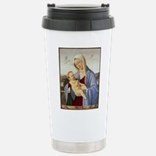 Vintage Painting of Madonna and Child Travel Mug