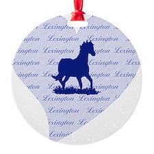 Lexington Kentucky Horse Ornament