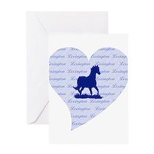 Lexington Kentucky Horse Greeting Card