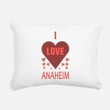 I LOVE ANAHEIM Rectangular Canvas Pillow