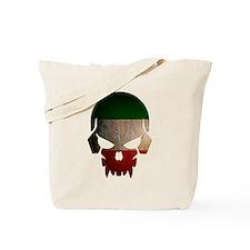 Irish Flag Skull Tote Bag