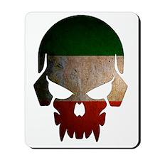 Irish Flag Skull Mousepad