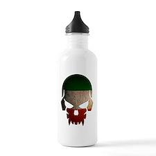Irish Flag Skull Water Bottle
