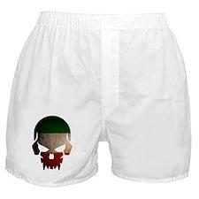 Irish Flag Skull Boxer Shorts