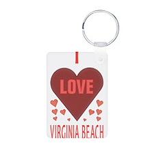 I LOVE Virginia Beach Keychains