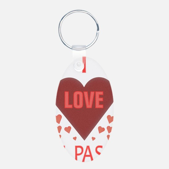 I LOVE EL PASO TEXAS Keychains