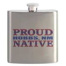 Hobbs New Mexico Native Flask