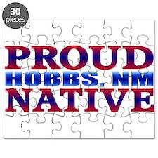 Hobbs New Mexico Native Puzzle