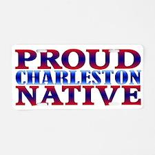 Charleston Native Aluminum License Plate