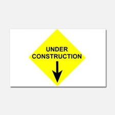 Under Construction Car Magnet 20 x 12